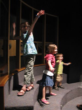 Human child exhibit