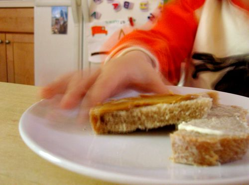Eating toast 2