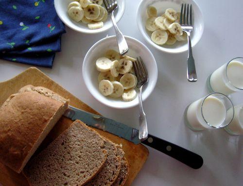 Rye and bananas