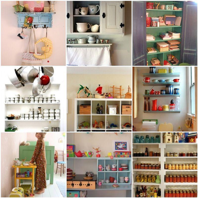 Inspiration shelves