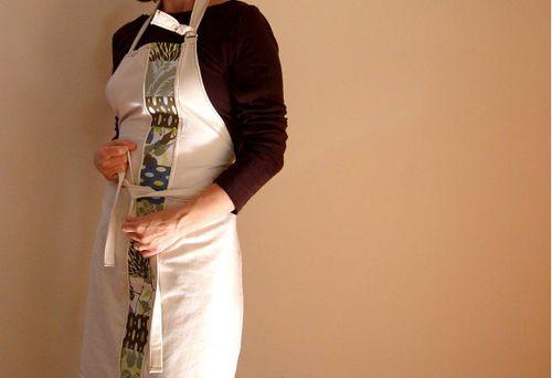 Patchwork apron 2