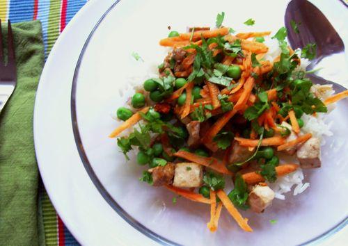 Tofu + rice