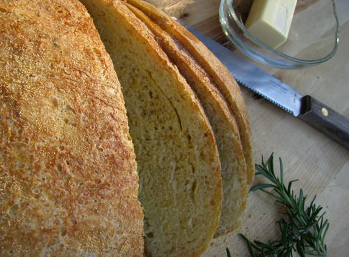 Rosemary crust and crumb