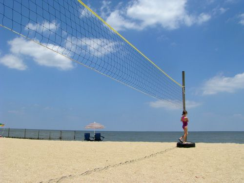 Volleyball net 2
