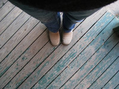 Porch floors