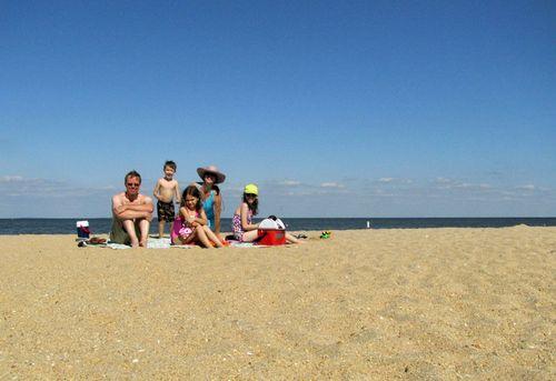 Beach family 1