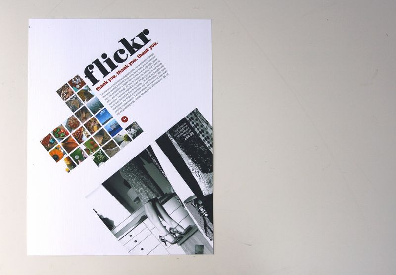 Flickr layout