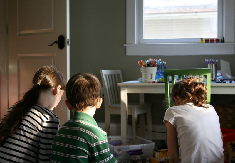 3 in sunny playroom