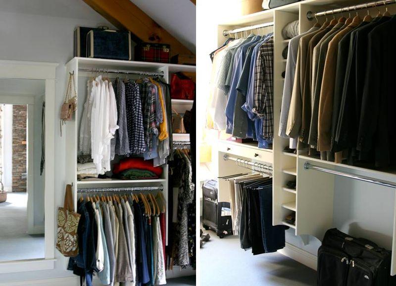 Closet built ins pair