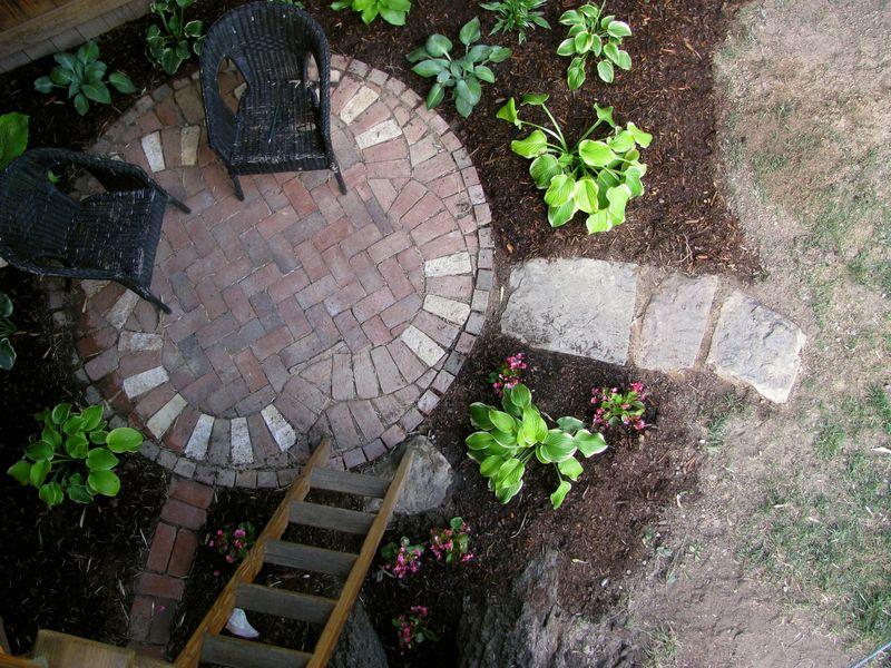 Celtic patio