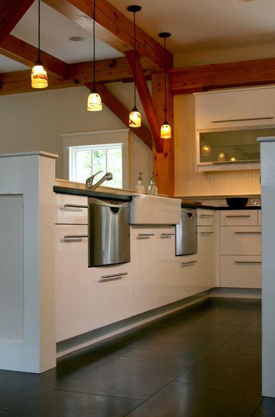 Kitchen dish drawers