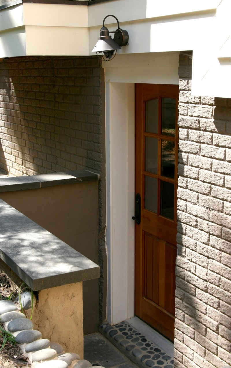Basement entry