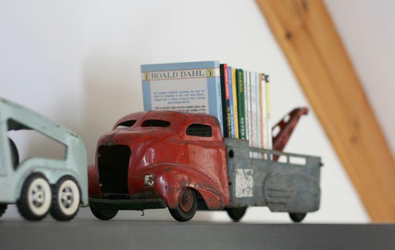 Vintage truck book holder
