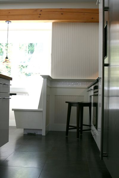 Kitchen bench seating 2
