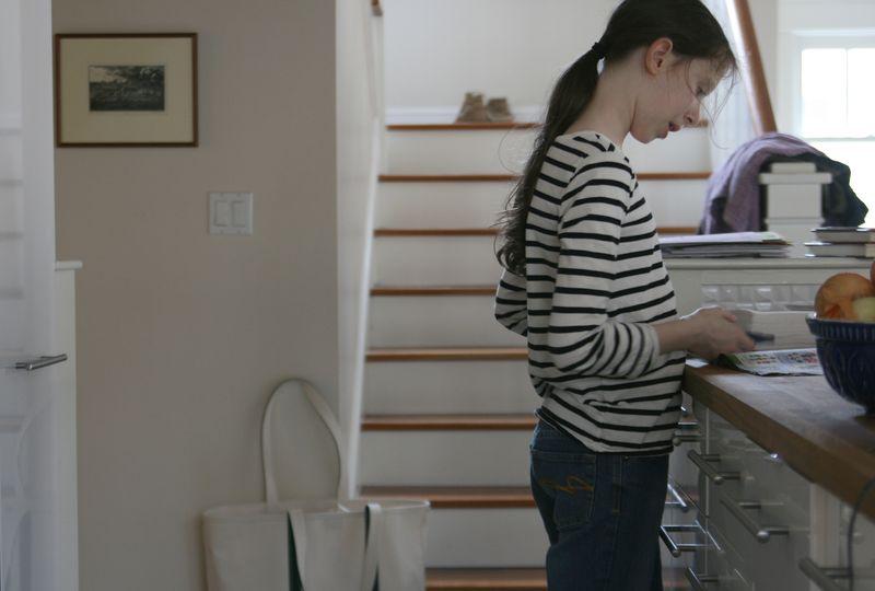 Helen in kitchen