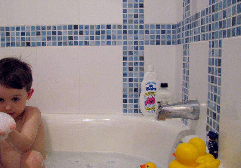 Bubbles pre splash