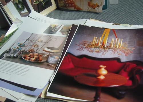 Christmas inspiration binder
